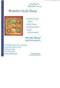 Riverton Quilt Event 001